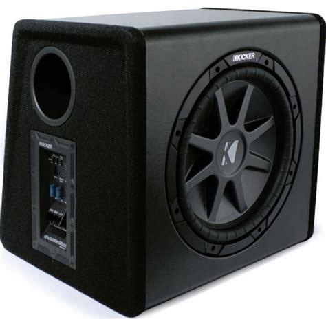 Speaker Subwoofer American 12 kicker pecvr12 substation car audio powered subwoofer box