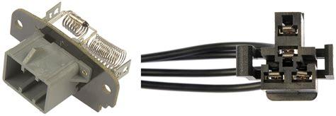blower motor resistor values hvac blower motor resistor kit dorman 973 412 ebay