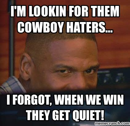 Haters Memes - dallas cowboys haters meme