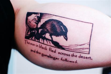 stephen king tattoos contrariwise literary tattoos