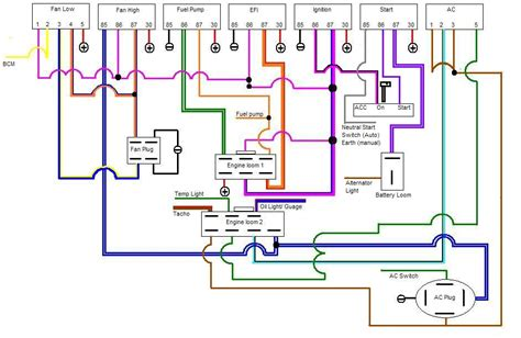 vl ignition wiring diagram basic ignition switch wiring