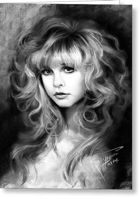 Stevie Birthday Card Stevie Nicks Greeting Cards For Sale