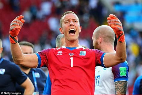 iceland goalkeeper 2018 iceland keeper hannes halldorsson says it was amazing to