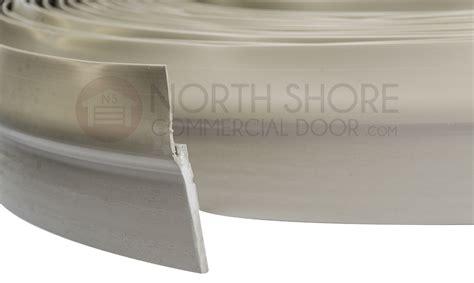 garage door stop molding weather seal  foot roll