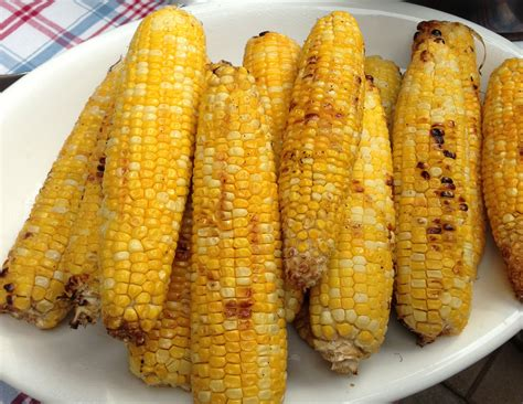 Roasted Corn grilled roasted corn kath s kitchen sync