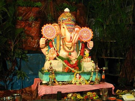 home decoration for ganesh festival ganesh chaturthi festival decoration ideas at home