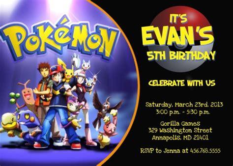 printable birthday invitations pokemon pokemon birthday printables images pokemon images