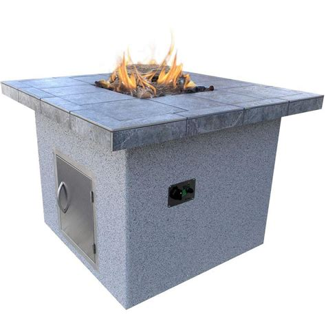 48 inch pit firepit dining table