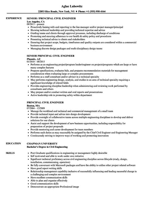 sample resume of civil engineer civil engineering resume sample