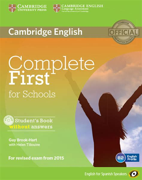 complete first students book complete first for schools for spanish speakers