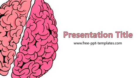 powerpoint themes brain brain powerpoint template