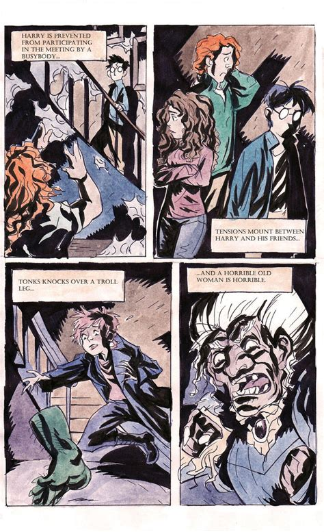 Novel Harry Potter 2 harry potter the graphic novel page 2 by theintrovert on