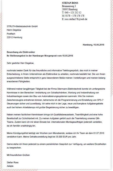 Bewerbungsschreiben Neue Ausbildung Das Perfekte Bewerbungsschreiben H 228 Ufige Fehler Im Anschreiben