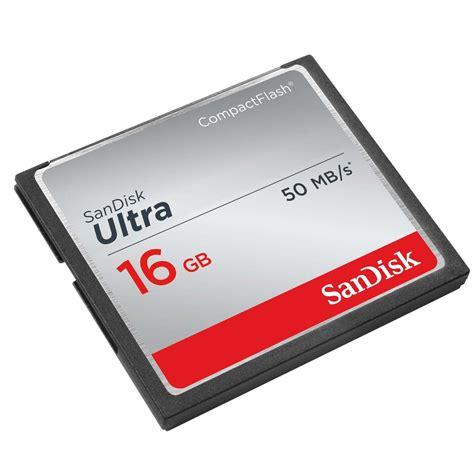 Memori Bagus Sandisk Cf Ultra 16 Gb Speed 50 Mbs 333 X sandisk ultra compact flash cf memory card16gb 7dayshop