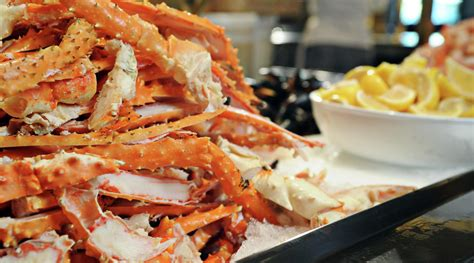 hotel las vegas seafood buffet bayside buffet mandalay bay