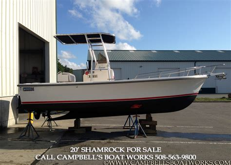 center console boats for sale 20 shamrock center console cbell s boat works inc