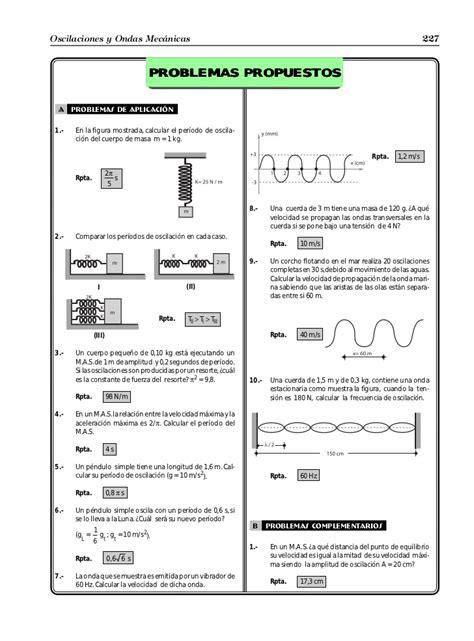 oscilaciones y ondas oscilaciones