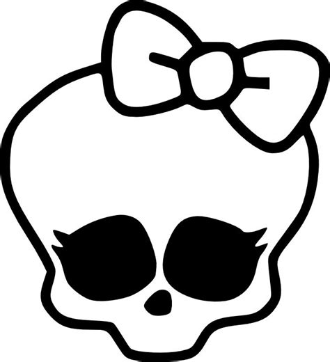 monster high skullette coloring pages how to draw monster high characters monster high