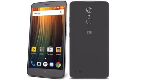 android max zte s new 6 inch max xl smartphone comes with android 7 1 1 and a rear facing fingerprint sensor