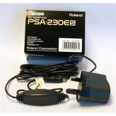 Adaptor Psa 230 P psa 230 ac adaptor for power guitar effects pedals