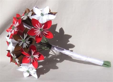 Custom Origami - custom paper flower bridal bouquet aftcra