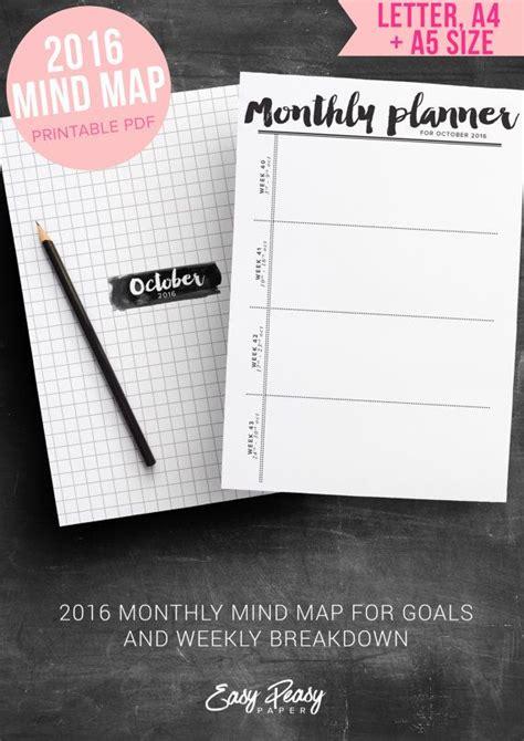 printable 2016 goal planner monthly goal planner 2016 printable monthly planner