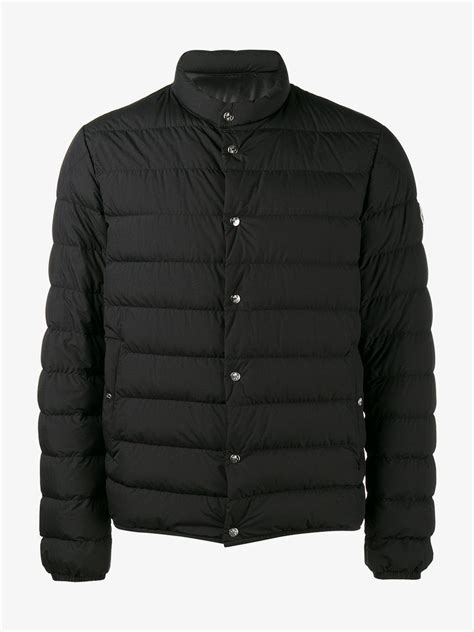 Quilted Jackets For by Moncler Quilted Jacket In Black For Lyst