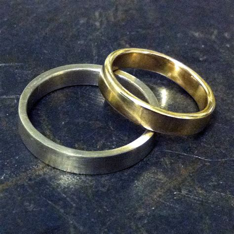 make your own wedding rings experience by made by ore