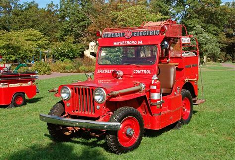 jeep fire truck willys jeep fire truck camion incendie pinterest