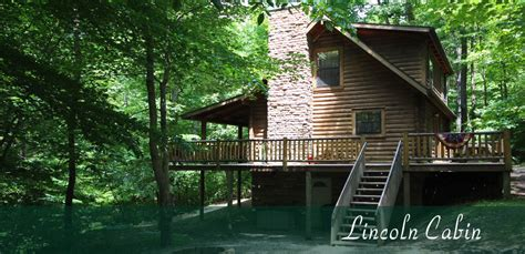 Hocking Hill Cabin by Lincoln Cabin Hocking S Cave Ohio