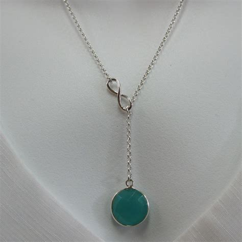 sterling silver necklace infinity necklace infinite