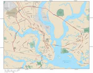 charleston sc map charleston sc map prints