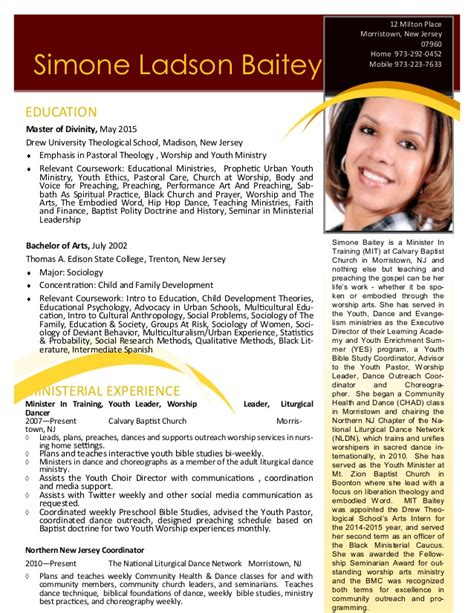 Ministry Resume Tips by Ministry Resume 06162015 2