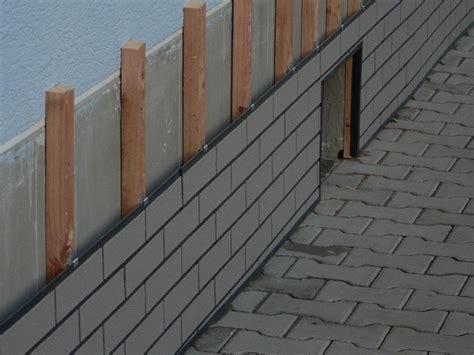 Mauerverkleidung Stein Aussen