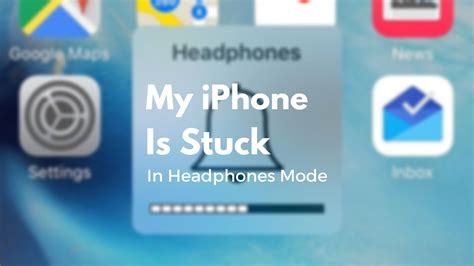 iphone stuck on headphones my iphone is stuck in headphones mode here s the fix
