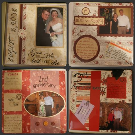 Wedding Anniversary Scrapbook Ideas by 301 Moved Permanently