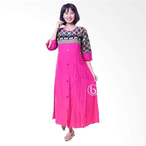 Baju Gamis Anggun Pink jual batik sonket cantik baju gamis pink harga kualitas terjamin