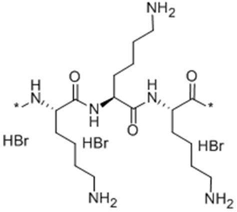 L Chemical Formula by Cas 25988 63 0 L Lysine Homopolymer Hydrobromide