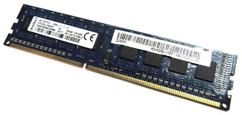 Ram 4gb Pc3l acr16d3lu1kbg 4g kingston 4 go pc3l 12800u ddr3 ram dimm