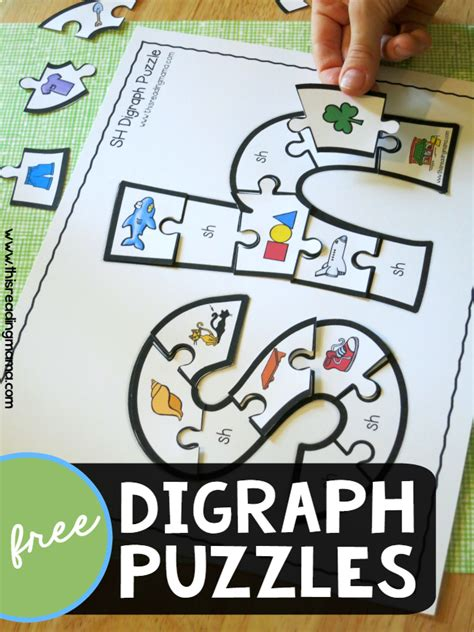 printable games for digraphs free printable digraph puzzles this reading mama