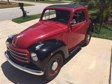 fiat 500 topolino for sale 1954 fiat topolino convertible for sale classiccars
