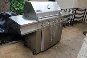 jenn air stainless steel gas grill teri attic