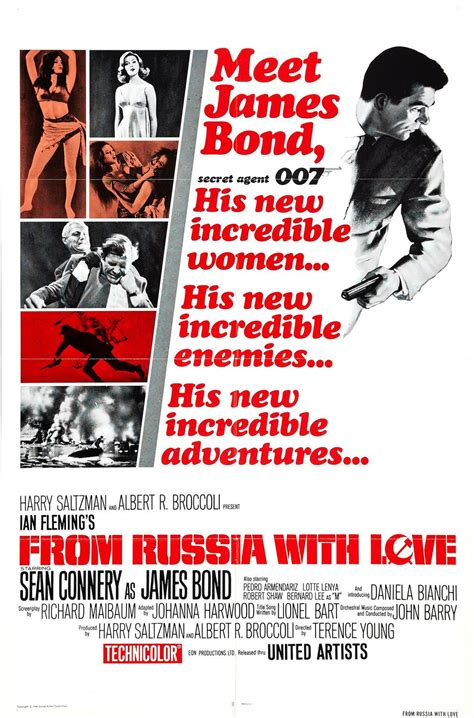 james bond from russia with love from russia with love dustin dye