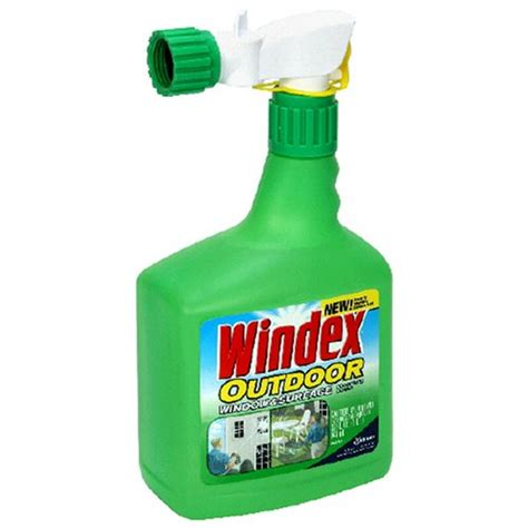 windex outdoor glass patio cleaner oz  ebay