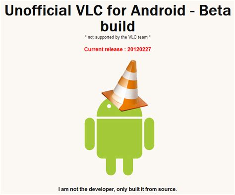 vlc for android vlc for android beta 28 images 302 found vlc for android 2 1 0 beta 2017 rus медиаплеер