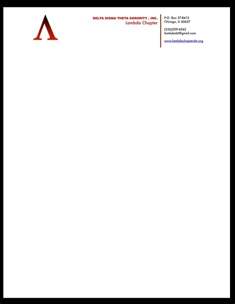 business letterhead templates with logo letterhead exle avt 311 project 4 corporate