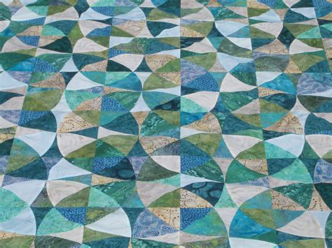 Winding Ways Quilt Block by Pokeytown Winding Ways Update