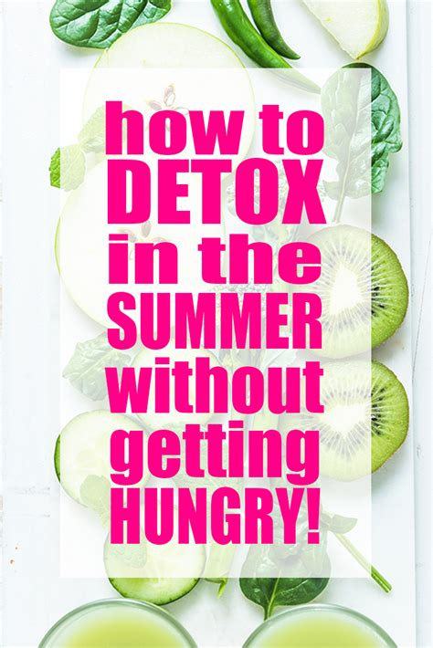 How To Detox My Cat by How To Detox During The Summer Without Getting Hungry Or