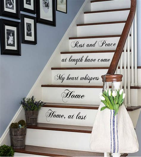 staircase wall decor 31 stair decor ideas to make your hallway look amazing