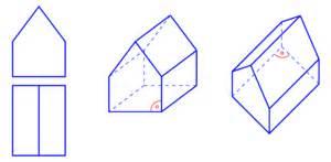 kölner haus und grund parallelprojektion grund und aufriss